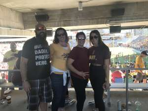 Jeremy E. attended Arizona State University Sun Devils vs. WSU - NCAA Football on Oct 12th 2019 via VetTix