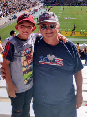 Alan attended Arizona State University Sun Devils vs. WSU - NCAA Football on Oct 12th 2019 via VetTix