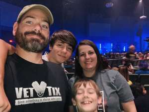 Joshua attended We Are Messengers Power Tour - General Admission on Oct 20th 2019 via VetTix