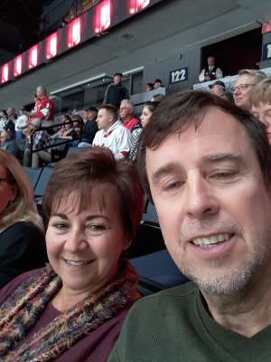 Mark attended Grand Rapids Griffins vs. Milwaukee Admirals - AHL on Oct 23rd 2019 via VetTix