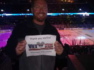 Barry attended Grand Rapids Griffins vs. Milwaukee Admirals - AHL on Oct 23rd 2019 via VetTix