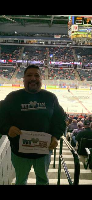 Jose attended Grand Rapids Griffins vs. Milwaukee Admirals - AHL on Oct 23rd 2019 via VetTix
