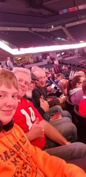 Wesley attended Grand Rapids Griffins vs. Milwaukee Admirals - AHL on Oct 23rd 2019 via VetTix