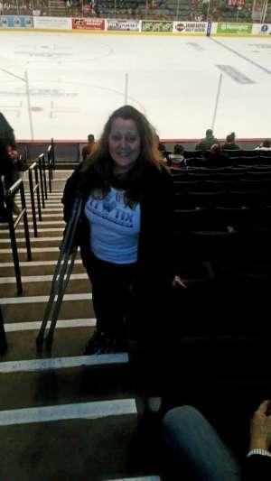 Kristen attended Grand Rapids Griffins vs. Milwaukee Admirals - AHL on Oct 23rd 2019 via VetTix
