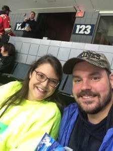 Jessie attended Grand Rapids Griffins vs. Milwaukee Admirals - AHL on Oct 23rd 2019 via VetTix