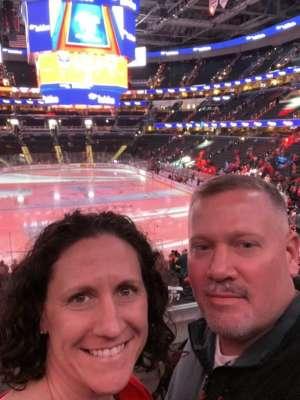 Tim attended Washington Capitals vs. Dallas Stars - NHL on Oct 8th 2019 via VetTix