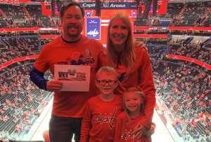 Patrick attended Washington Capitals vs. Dallas Stars - NHL on Oct 8th 2019 via VetTix
