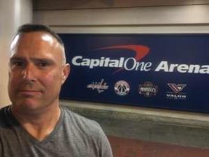 Adam attended Washington Capitals vs. Dallas Stars - NHL on Oct 8th 2019 via VetTix