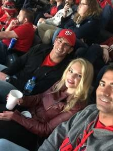 Nickolas attended Washington Capitals vs. Dallas Stars - NHL on Oct 8th 2019 via VetTix