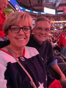 Bob attended Washington Capitals vs. Dallas Stars - NHL on Oct 8th 2019 via VetTix