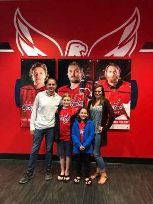 Marc attended Washington Capitals vs. Dallas Stars - NHL on Oct 8th 2019 via VetTix