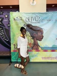 MBrown attended Oliverio: a Brazilian Twist - Saturday 4pm on Oct 19th 2019 via VetTix