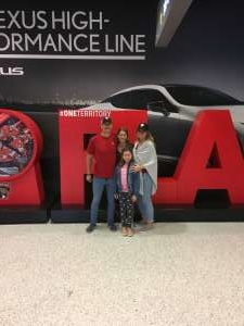 Eric attended Florida Panthers vs. Carolina Hurricanes - NHL on Oct 8th 2019 via VetTix