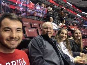 Erik attended Florida Panthers vs. Carolina Hurricanes - NHL on Oct 8th 2019 via VetTix