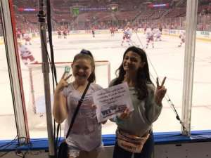 Barbara attended Florida Panthers vs. Carolina Hurricanes - NHL on Oct 8th 2019 via VetTix