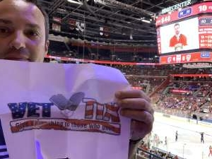 Luis attended Florida Panthers vs. Carolina Hurricanes - NHL on Oct 8th 2019 via VetTix
