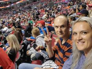 Olga attended Florida Panthers vs. Carolina Hurricanes - NHL on Oct 8th 2019 via VetTix