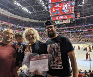 Jason attended Florida Panthers vs. Carolina Hurricanes - NHL on Oct 8th 2019 via VetTix