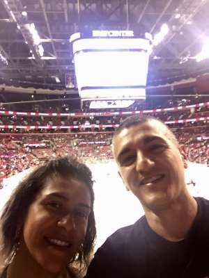 Adrian attended Florida Panthers vs. Carolina Hurricanes - NHL on Oct 8th 2019 via VetTix
