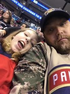 Jon attended Florida Panthers vs. Carolina Hurricanes - NHL on Oct 8th 2019 via VetTix