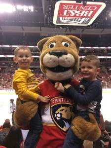 Geoffrey attended Florida Panthers vs. Carolina Hurricanes - NHL on Oct 8th 2019 via VetTix