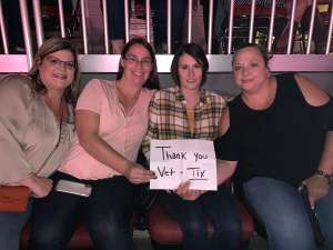 Julianne attended Carrie Underwood: the Cry Pretty Tour 360 on Oct 17th 2019 via VetTix