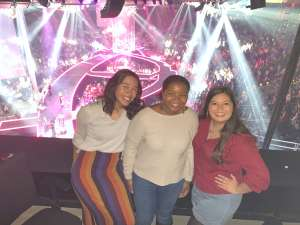 Gerrad attended Carrie Underwood: the Cry Pretty Tour 360 on Oct 17th 2019 via VetTix