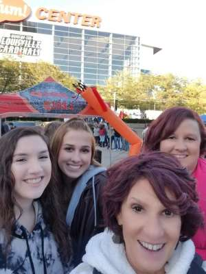 Amanda Jane attended Carrie Underwood: the Cry Pretty Tour 360 on Oct 17th 2019 via VetTix