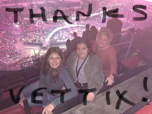Dean attended Carrie Underwood: the Cry Pretty Tour 360 on Oct 17th 2019 via VetTix