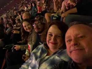 Jonathan attended Carrie Underwood: the Cry Pretty Tour 360 on Oct 17th 2019 via VetTix