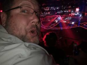 Christopher attended Carrie Underwood: the Cry Pretty Tour 360 on Oct 17th 2019 via VetTix