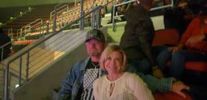 Robert attended Carrie Underwood: the Cry Pretty Tour 360 on Oct 17th 2019 via VetTix