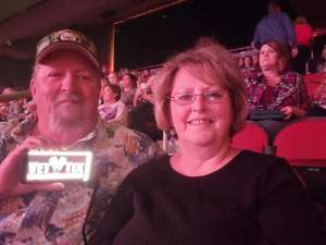 Patrick attended Carrie Underwood: the Cry Pretty Tour 360 on Oct 17th 2019 via VetTix