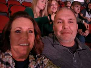Michael attended Carrie Underwood: the Cry Pretty Tour 360 on Oct 17th 2019 via VetTix