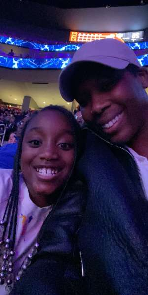 Jasmine attended Detroit Pistons vs. New York Knicks - NBA **military Night** on Nov 6th 2019 via VetTix