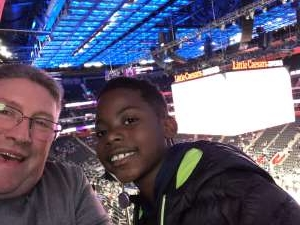 Patty attended Detroit Pistons vs. New York Knicks - NBA **military Night** on Nov 6th 2019 via VetTix