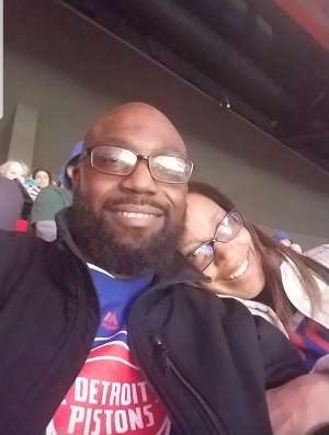 James attended Detroit Pistons vs. New York Knicks - NBA **military Night** on Nov 6th 2019 via VetTix