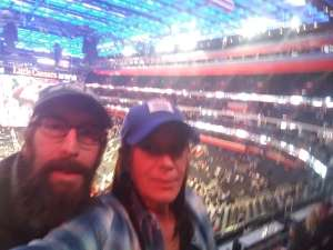 Laurie attended Detroit Pistons vs. New York Knicks - NBA **military Night** on Nov 6th 2019 via VetTix