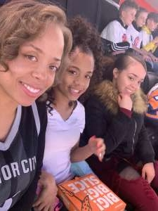 Keteva attended Detroit Pistons vs. New York Knicks - NBA **military Night** on Nov 6th 2019 via VetTix