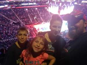 Bryan attended Detroit Pistons vs. New York Knicks - NBA **military Night** on Nov 6th 2019 via VetTix