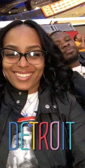porshia attended Detroit Pistons vs. New York Knicks - NBA **military Night** on Nov 6th 2019 via VetTix