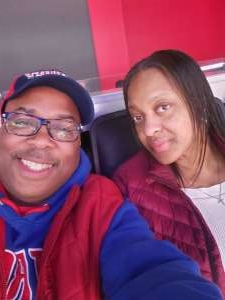johnnie attended Detroit Pistons vs. New York Knicks - NBA **military Night** on Nov 6th 2019 via VetTix