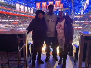 Herbert attended Detroit Pistons vs. New York Knicks - NBA **military Night** on Nov 6th 2019 via VetTix