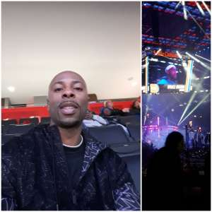 CLR attended Detroit Pistons vs. New York Knicks - NBA **military Night** on Nov 6th 2019 via VetTix