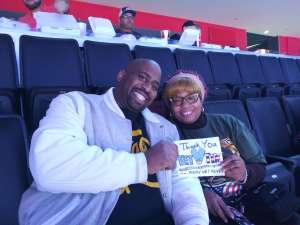 Sophilea attended Detroit Pistons vs. New York Knicks - NBA **military Night** on Nov 6th 2019 via VetTix
