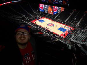 Brent attended Detroit Pistons vs. New York Knicks - NBA **military Night** on Nov 6th 2019 via VetTix