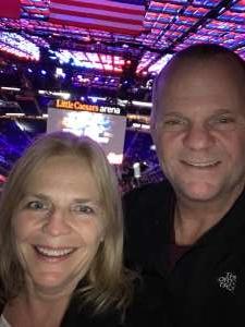 Paul attended Detroit Pistons vs. Charlotte Hornets - NBA on Nov 29th 2019 via VetTix