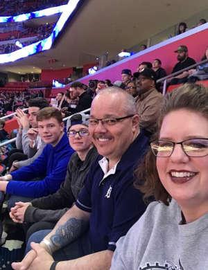 Bobby attended Detroit Pistons vs. Charlotte Hornets - NBA on Nov 29th 2019 via VetTix