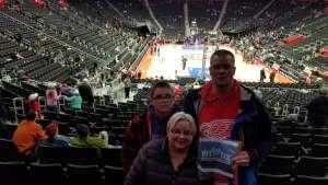 Jonathan attended Detroit Pistons vs. Charlotte Hornets - NBA on Nov 29th 2019 via VetTix