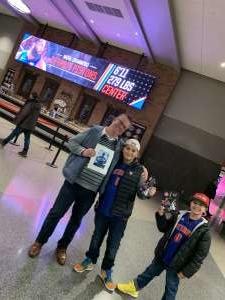 James attended Detroit Pistons vs. Charlotte Hornets - NBA on Nov 29th 2019 via VetTix